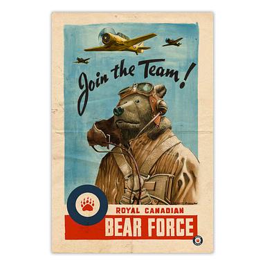 Bears Invade: Royal Canadian Bear Force